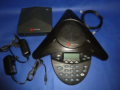 Polycom SoundStation 2W 2201-67880-001 and 2201-07810-001 w/ AC Adapters 2.4 GHz