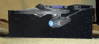 "Star Trek 1979 Film NCC-1701 USS Enterprise Tabletop Display Standee 11"" Long"