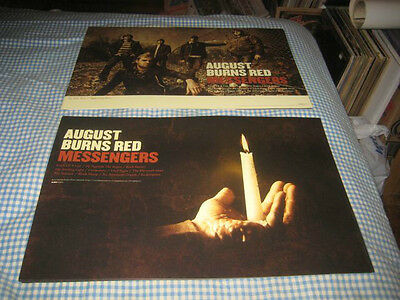 AUGUST BURNS RED-(messengers)-1 POSTER-2 SIDED-12X18-NMINT-RARE
