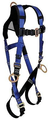 FallTech Contractor+ Fall Protection Construction Body Harness XL X-Large / 2-XL