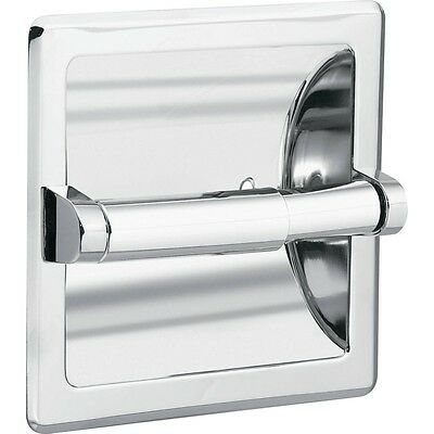 Paper holder with chrome roller