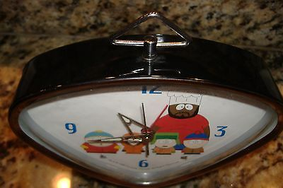 Vintage Rare South Park alarm Clock Cartman, Kyle, Stan, Kenny- Chef- 1998
