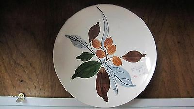 1  ☆ BLUE RIDGE SOUTHERN POTTERY ☆ Bethany Berry Skyline ☆ Luncheon Plate ☆ 9.5""