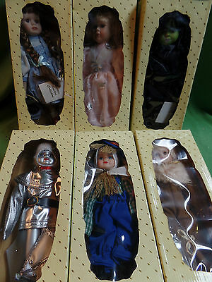 Wizard of Oz Dolls Camille Limited Collection Set of 6 Dolls