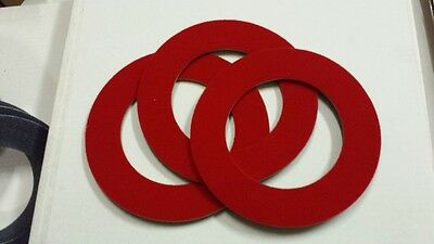 Lagler Trio Red Velcro Ring - P954  - 1 Ring
