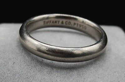 Tiffany & Co. Platinum Men's Wedding Ring