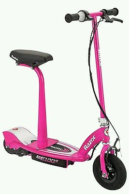 Razor E100S Scooter With Seat - Pink. Brand New In Box.