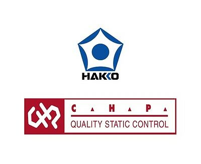 Hakko CHP SC-0711, GLOVE, LOW LINT, FINGER TIP COATED, MD, ESD