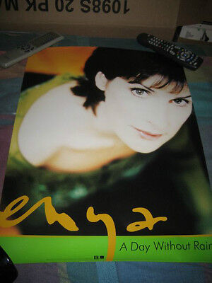 ENYA-(a day without rain)-1 POSTER-18X24-NMINT-RARE