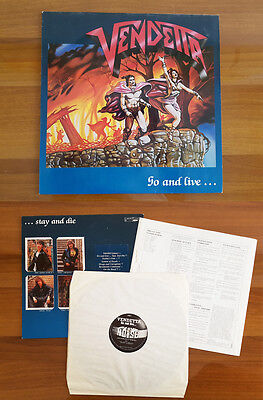 Vendetta – Go And Live Stay And Die - Noise International – N 0102-1 - Vinyl