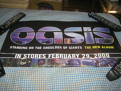 OASIS-(standing on the shoulder of giants)-1 POSTER-12.5X23.5-NMINT-RARE