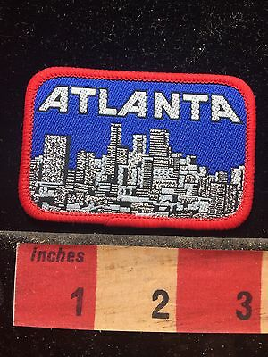 Atlanta Georgia Woven Patch ~ Buildings And Architecture Skyline 74WV