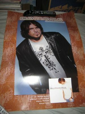 BILLY RAY CYRUS-(wanna be your joe)-18X24 POSTER-NMINT