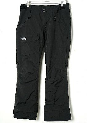 The North Face Women's Black Hyvent Insulated Ski/Snowboard Pants Size Medium M