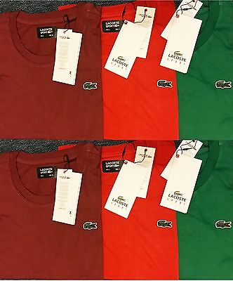 Mens  Lacoste Short Sleeve Crew Neck T-Shirt Massive  sale Hurray!!!!!