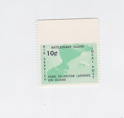 Rattlesnake Island Local 1966 10 Cent Ford Tri-Motor Error