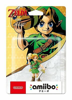Amiibo Legend of Zelda Link Majora's Mask Nintendo Japan