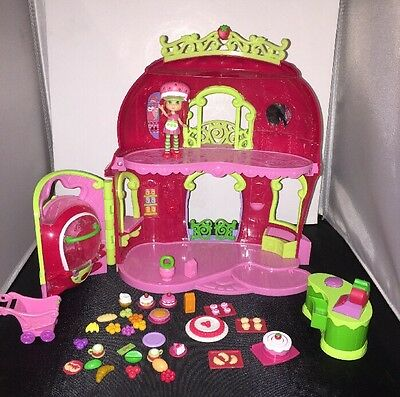 STRAWBERRY Shortcake BERRY BITTY BAKERY House PLAYSET Doll Food Accessories