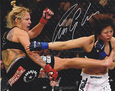 Cris Cyborg Signed Autographed Mma Ufc Womens Champion 8X10 Photo Exact Proof #6