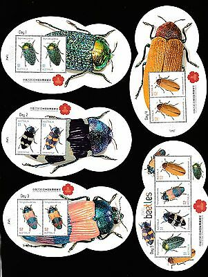 China 2016 Asian Stamp Exhibition Miniature Sheets Decimal Stamps - Full Set Muh