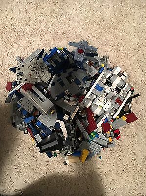 4 Lbs Of Lego Mainly Star Wars