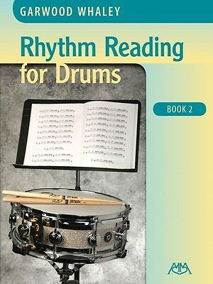 Rhythm Reading for Drums - Book 2 - Drum Music Book