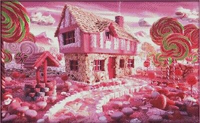 Fairy Tale House. 14CT counted cross stitch kit. Craft brand new.