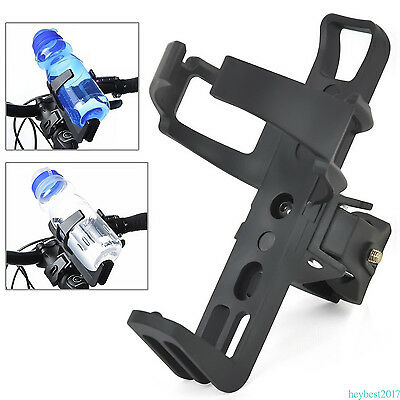 Water Bottle Drinks Holder Carrier Cage for Bike Bicycle Rack Sports Black CY06