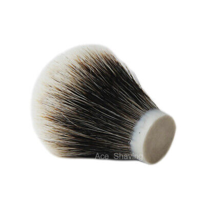 2 Band Finest Badger Hair Shaving Brush Head Knot Size 22mm Total height 65mm