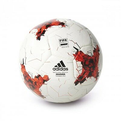 Balón adidas Confed Training Pro White-Red-Power red