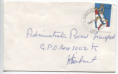 AUSTRALIA   1974: commercial cover bearing single 7c Sports franking (3409)