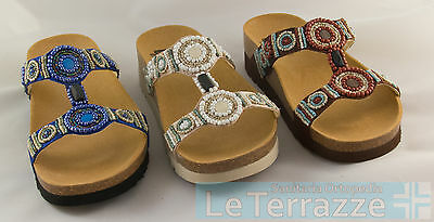 Dr Scholl Bogota wedge bioprint slippers clogs shoes