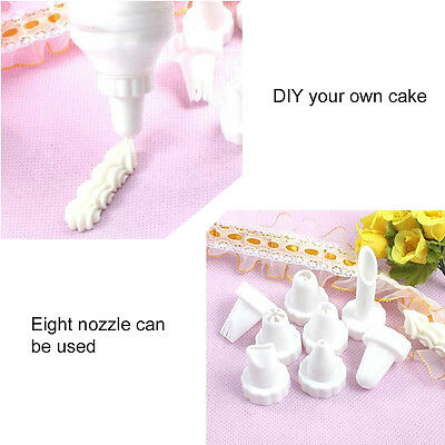 DIY Home Party Cream Flower Mouth Set Cake Piping Cream Nozzles Tool Set AU