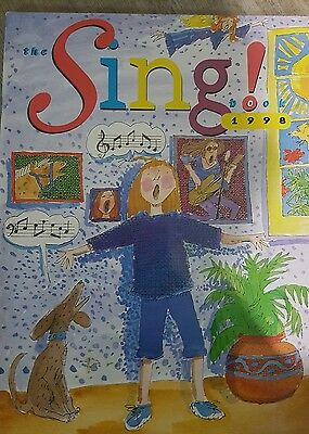 the sing book 1998 abc broadcasting corp music sheet book