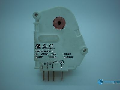 Westinghouse BF-2001-21 5A 200-240VAC 50/60Hz 8 hour defrost timer
