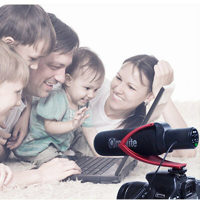 Electric Super-Cardioid Directional Condenser Microphone for Video Device AU
