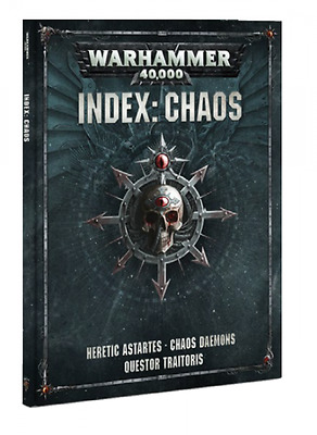 Warhammer 40.000: Index: Chaos Softcover (Deutsch) 40k Neue Edition