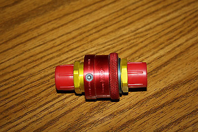 Aeroquip A3Q97 2Q96 Coupler 375507-8 Quick Connect Coupling Exc. Cond Both Ends