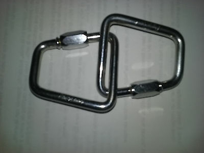 MAILLONS RAPIDES TRAPEZE INOX 6mm
