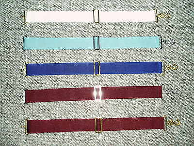 Masonic Regalia - apron belt extender in different colours according to Order