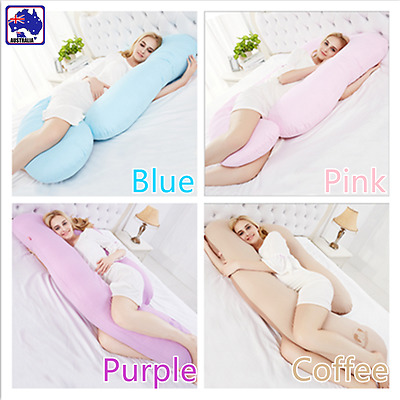 Maternity Pregnancy Pillow Nursing Body Sleeping Support Feeding U Shape HPIF597