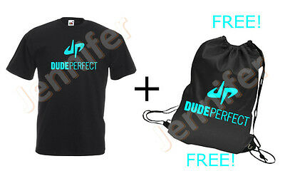 Dude Perfect  T-shirt, Cotton,100% Cotton, All sizes available
