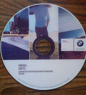 DVD road map  Europe 2017 mk4 bmw