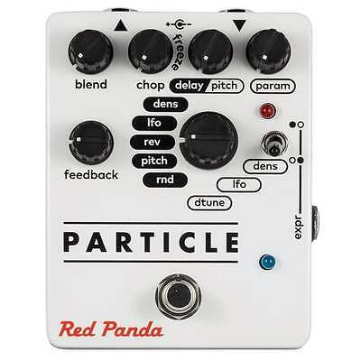 Red Panda Particle Granular Delay/Pitch Shifting Pedal. Authorized Dealer!