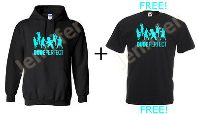 Dude perfect  Hoodie, 80% Cotton, All sizes available