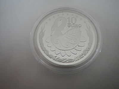 Ireland 2004 Swan  Silver Proof 10€ coin