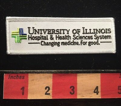 University Of  ILLINOIS Medical Patch Emblem Hospital & Health Science 68E3