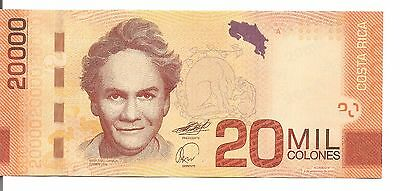 Costa Rica: Low And Fancy Serial Banknote - 20000 Colones- 02/09/2009 - P278 Unc