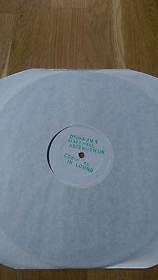 "Darkman & Marshall - Cover Me In Loving 12"" Vinyl Promo (Mint) Classic Breakbeat"
