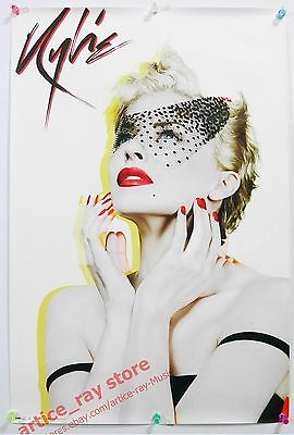 KYLIE MINOGUE X 2007 Taiwan Promo Poster In My Arms NEW